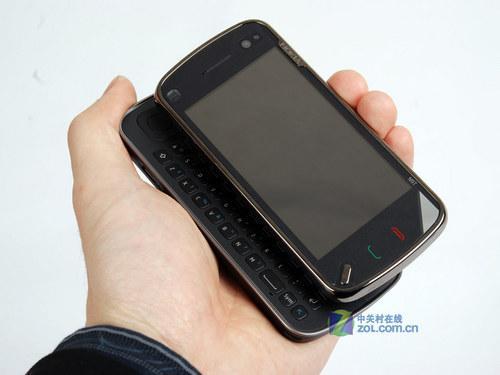 配件为:单电,单充,耳机,数据线.诺基亚n97是一款侧滑全键盘s高清图片